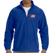 XC-Lion - M990 Harriton Men's 8oz. Full-Zip Fleece