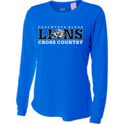 LIONS - NW3002 A4 Ladies' Long Sleeve Cooling Performance Crew Shirt
