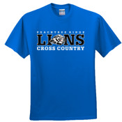 LIONS - 3931 Fruit of the Loom Adult 5oz. 100% Heavy Cotton HD T-Shirt
