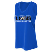 LIONS - A4 NW2360 Ladies' Athletic Tank Top