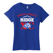 Proud - 880 Anvil Ladies' Ringspun T-Shirt